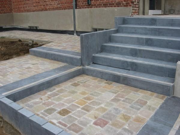 Wasbak blauwe steen 124713 ontwerp inspiratie voor de badkamer en de kamer inrichting - Binnen trap ...